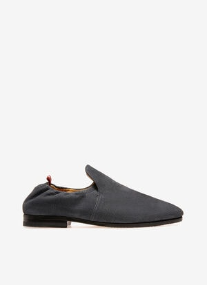 BLUE CALF NUBUK Loafers and Moccasins - Bally
