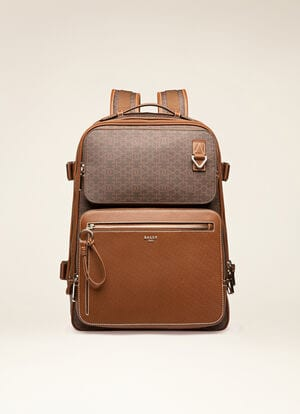 MULTICOLOR SYNTHETIC Backpacks - Bally