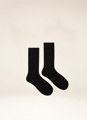 BLUE MIX COTTON Socks - Bally