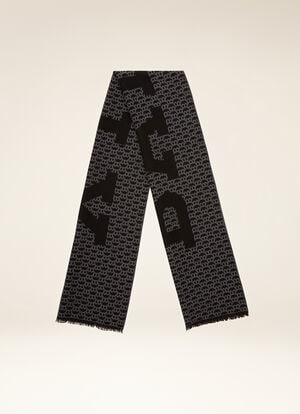 MULTICOLOR MIX WOOL Scarves - Bally