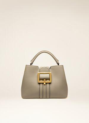 GREY BOVINE Top Handle Bags - Bally