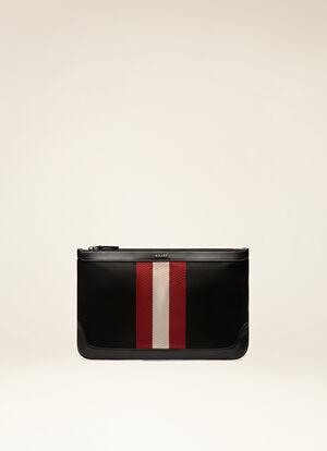 BLACK FABRIC Clutches & Portfolios - Bally