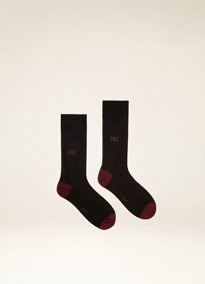 BLACK COTTON Socks - Bally