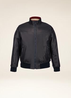 BLUE LAMB Leather - Bally