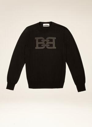 BLACK COTTON Knitwear - Bally