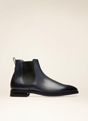 NAVY CALF Boots - Bally