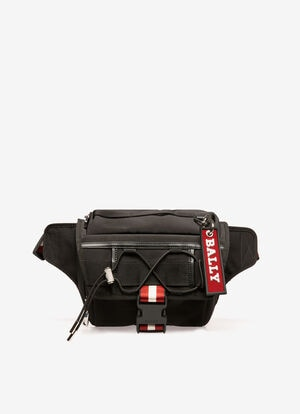 BLACK FABRIC Belt Bags - Bally