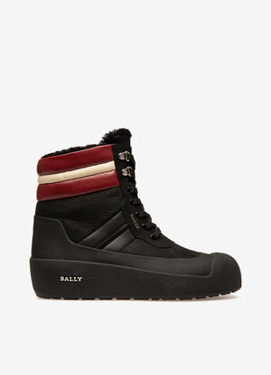 BLACK CALF Snow Boots - Bally