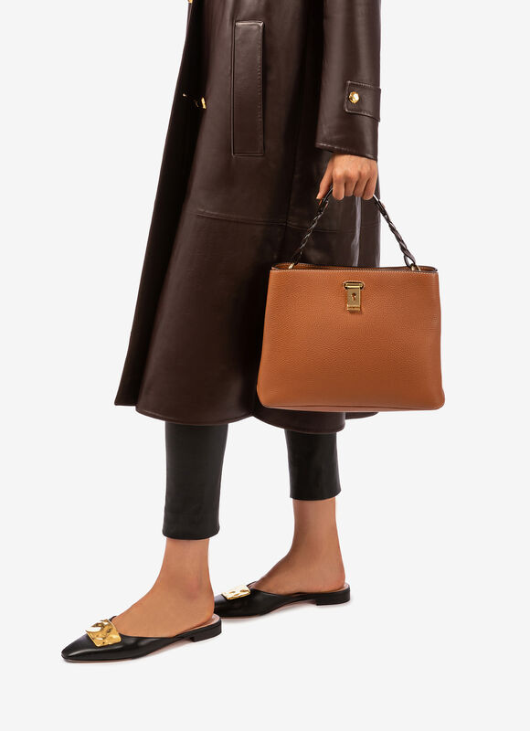 BROWN CALF Shoulder Bags - Bally