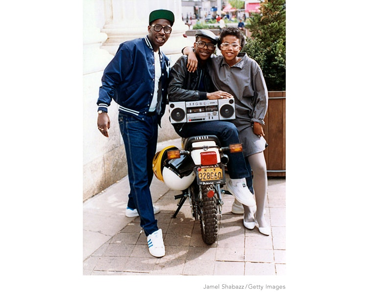 New York's street life by Jamel Shabazz
