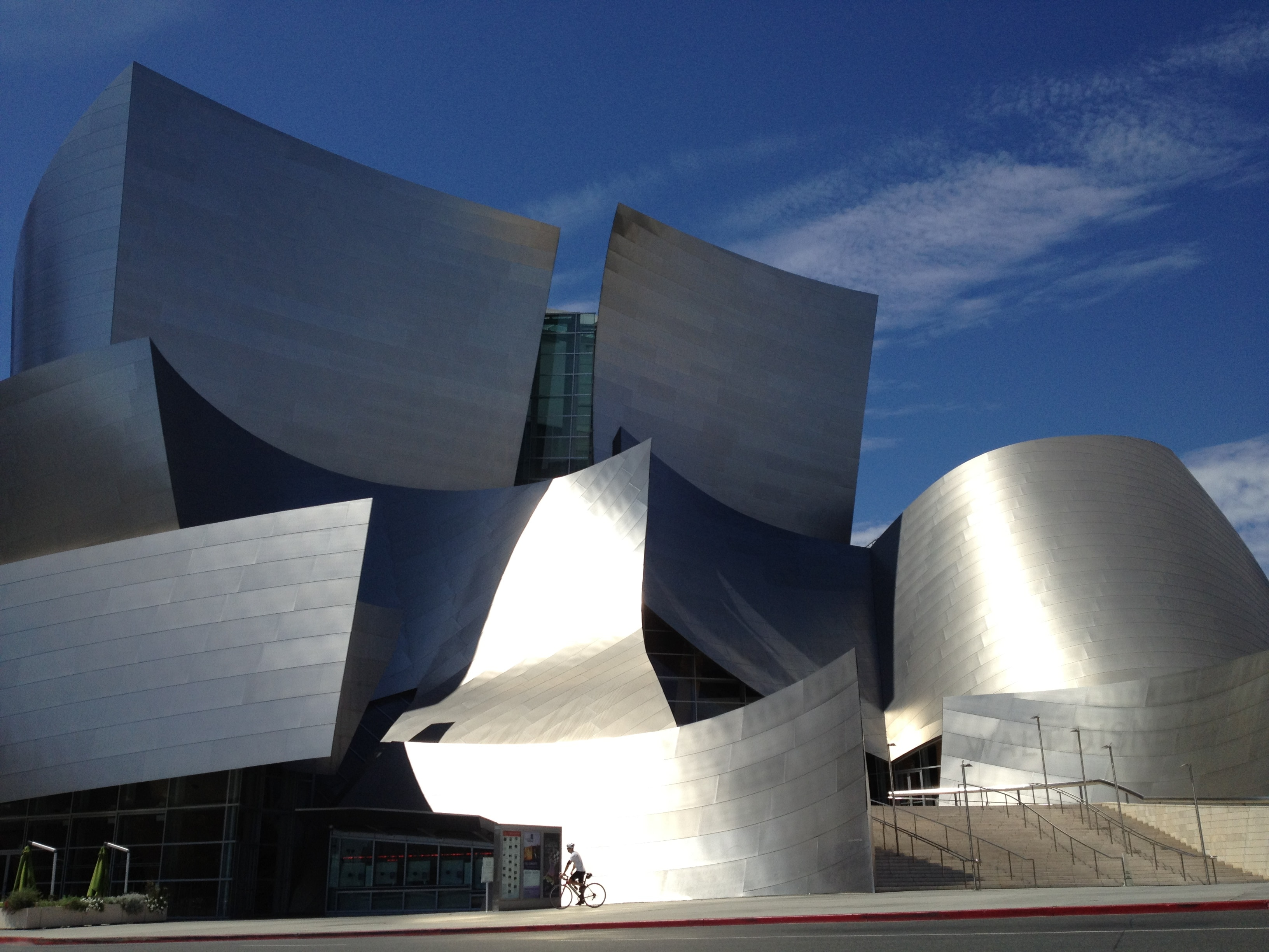 The Disney Concert Hall, design of Frank Gehry