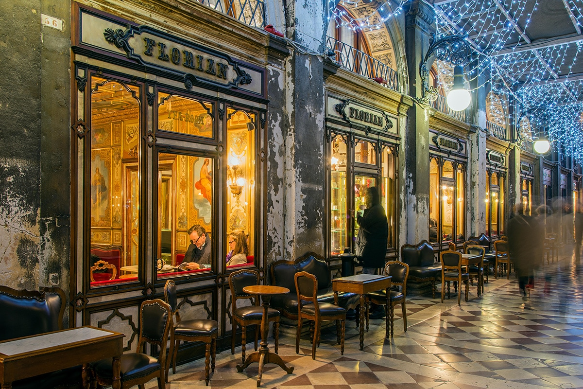 Caffe Florin on St Mark's Square