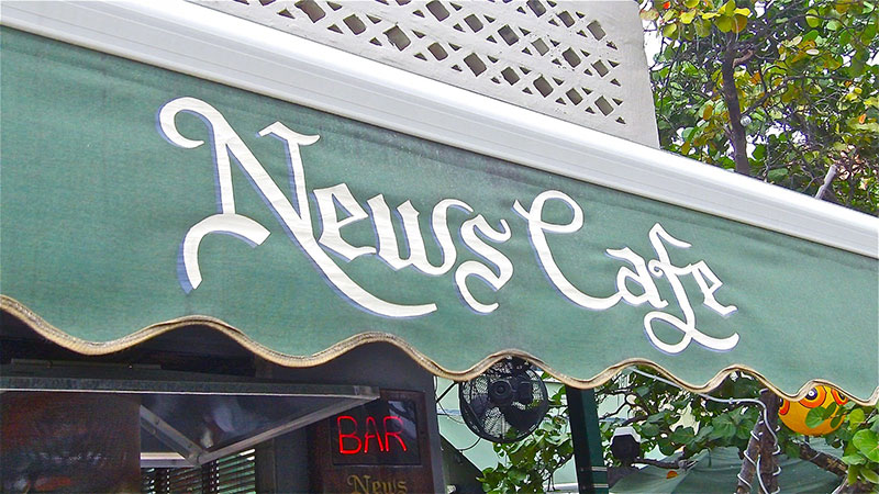 News Cafe, Miami