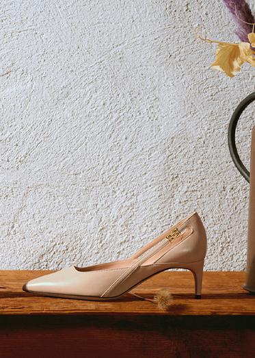 Christmas Woman Gifting Shoes