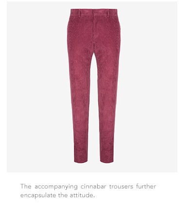 Bally cinnabar trousers