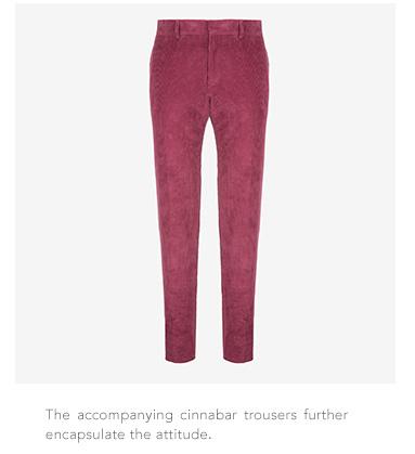 Bally cinnabar trousers