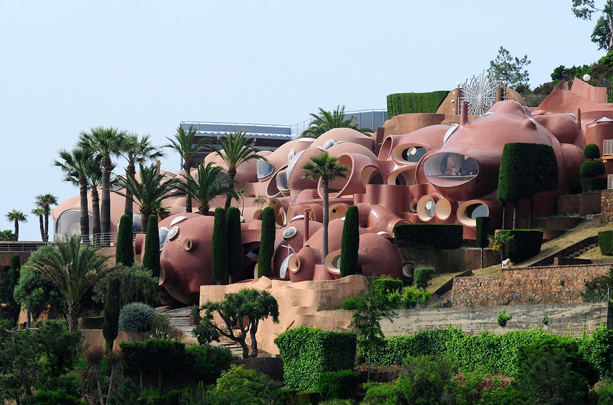 The Palais Bulles near Cannes