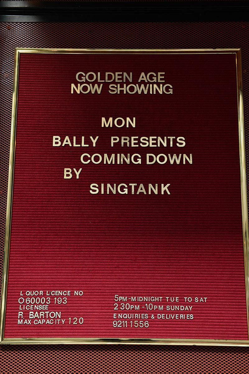 Singtank Event: Sydney