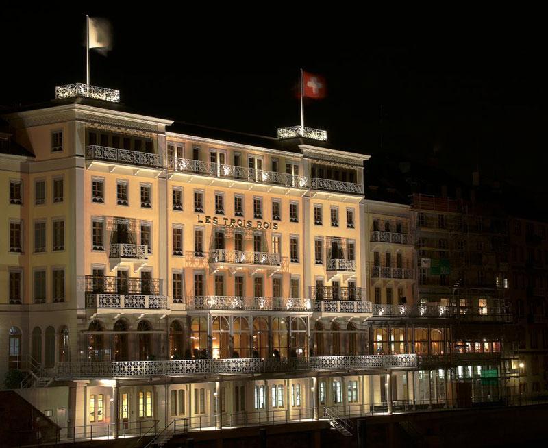 Hotel Les Trois Rois, Basel