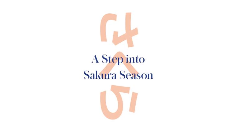 A step into sakura season