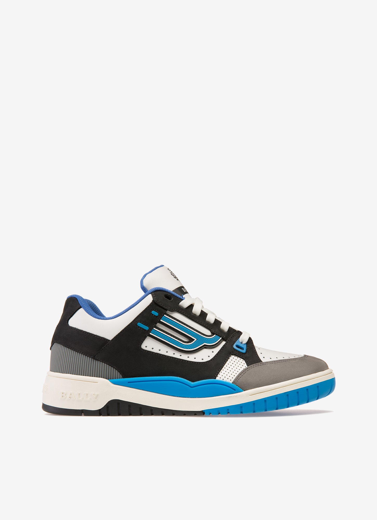 Mens Designer Trainers Bally Blue Sneakers